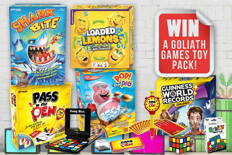 WIN: A Huge Goliath Games Pack Loaded With All Your ...