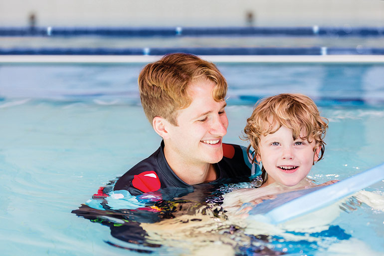 how to survive winter swimming lessons