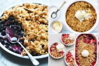 fruit crumble dessert recipes