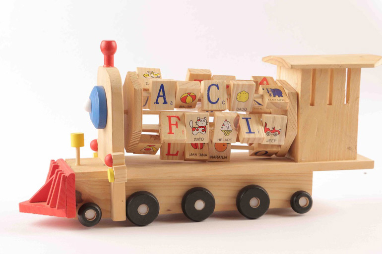 how to wash wooden toys