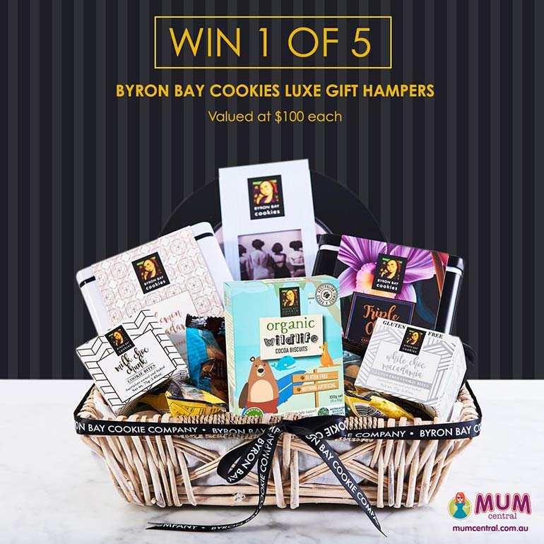 Byron Bay Cookie Company hamper