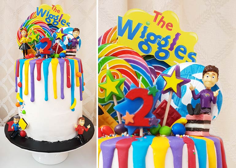 easy Wiggles birthday cake