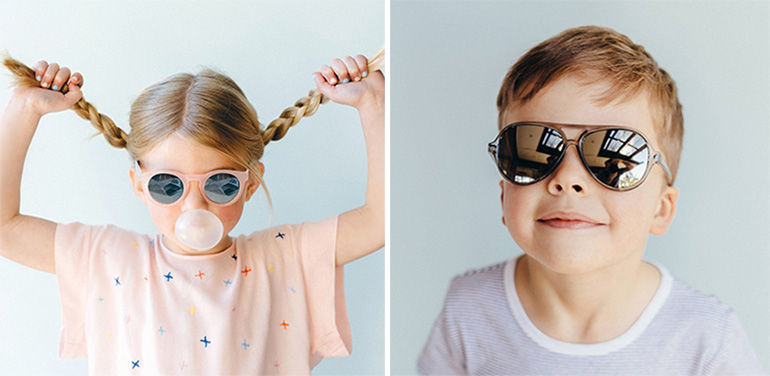 The Stork Nest stock Frankie Ray sunglasses for kids