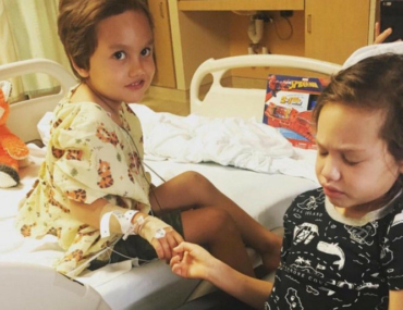 Avery family siblings battling same childhood brain cancer