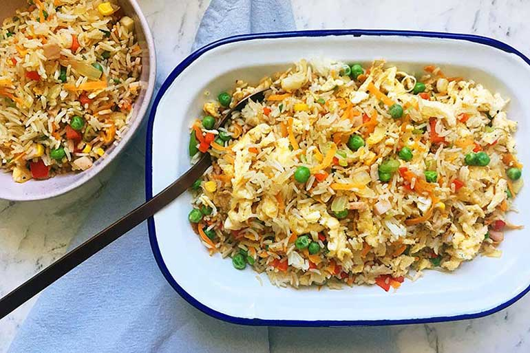 Clever Ways With Leftovers - Fried Rice, rice recipes