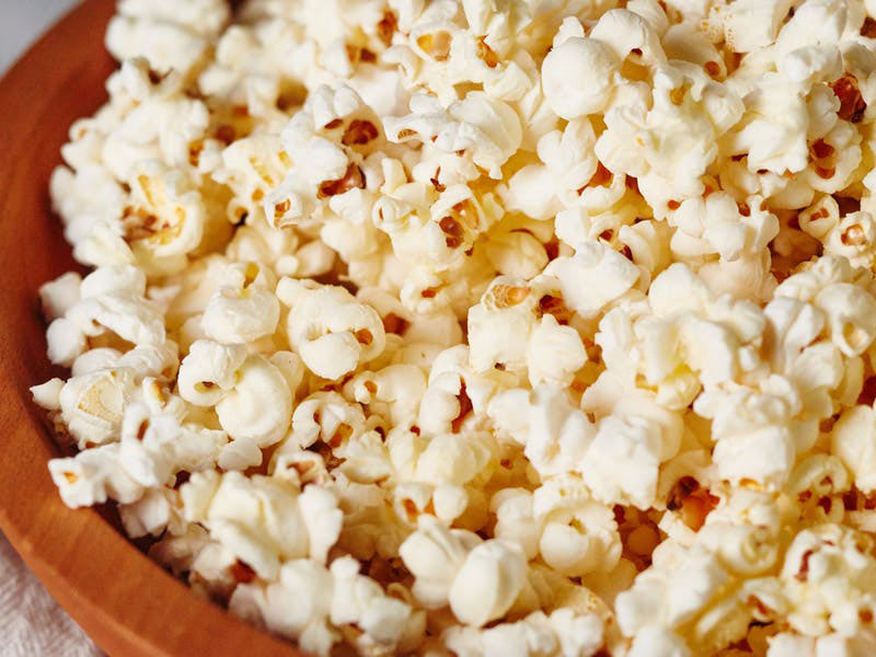movie snacks buttered popcorn