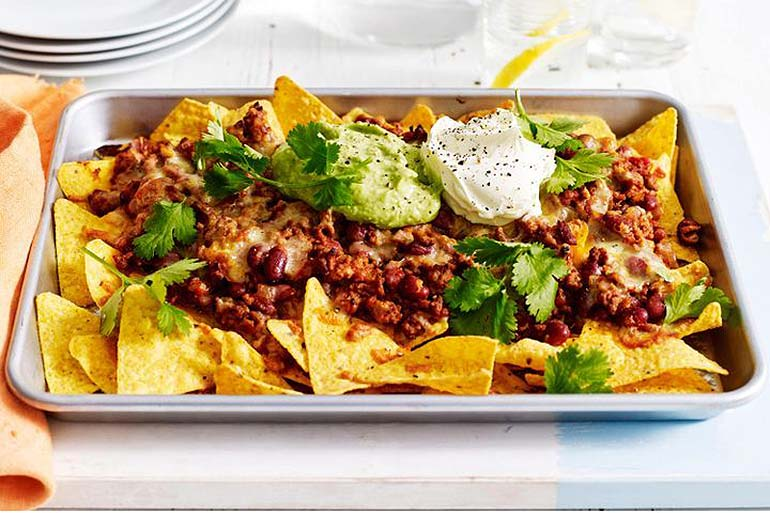 movie snacks nacho tray
