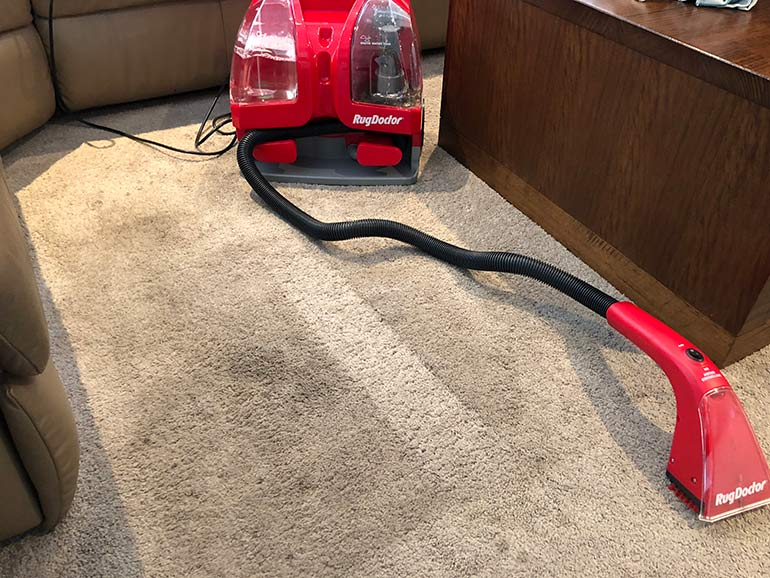 review rug doctor portable spot cleaner
