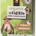 Byron Bay Cookie Company Organic Wildlife Kids Biscuits