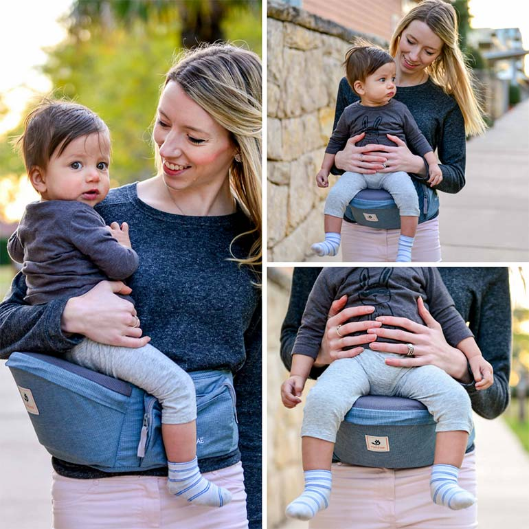 0ccb6cc4714 WIN  The Pognae Baby Carrier + Hipseat Combines Comfort and Luxury