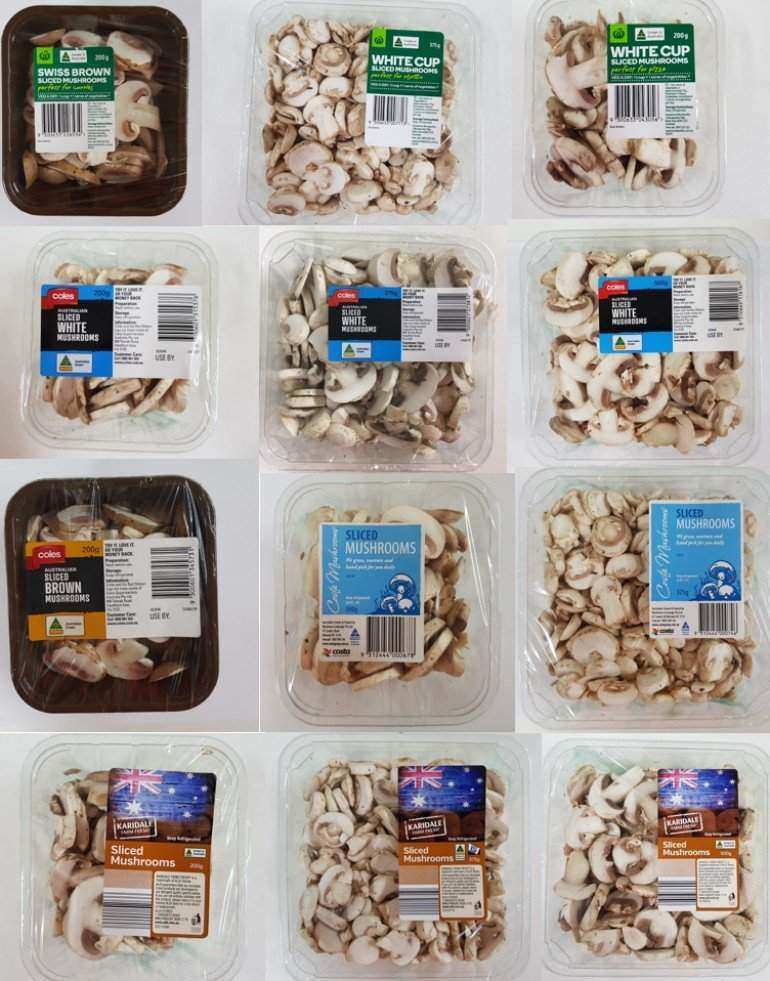 Product Recall: Woolworths, Coles and Aldi Sliced Mushrooms