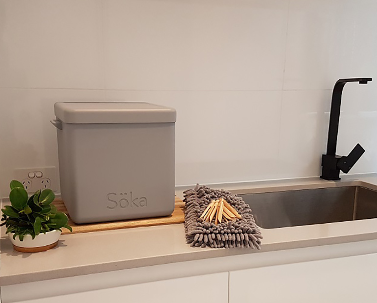 soka tub in laundry