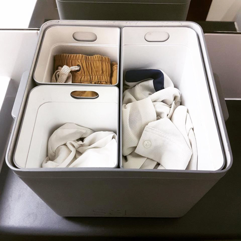 soka tub to sort and soak clothing
