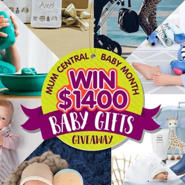 WIN: 11 Drop-Dead Gorgeous Presents For Mum + Bub in Our Baby Gift Giveaway