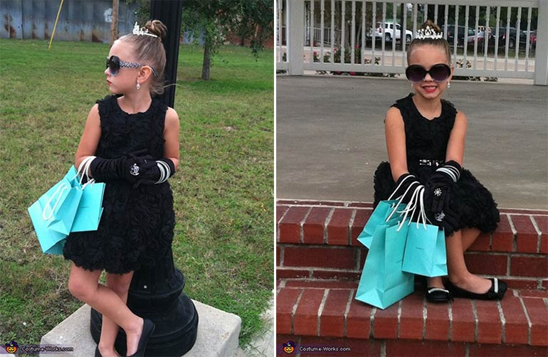Audrey Hepburn easy Book week costumes