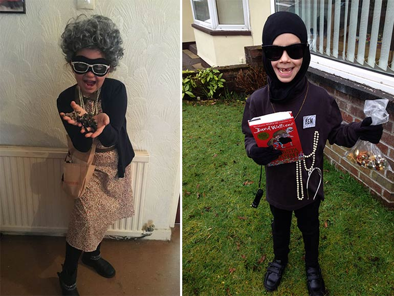 easy book week costumes