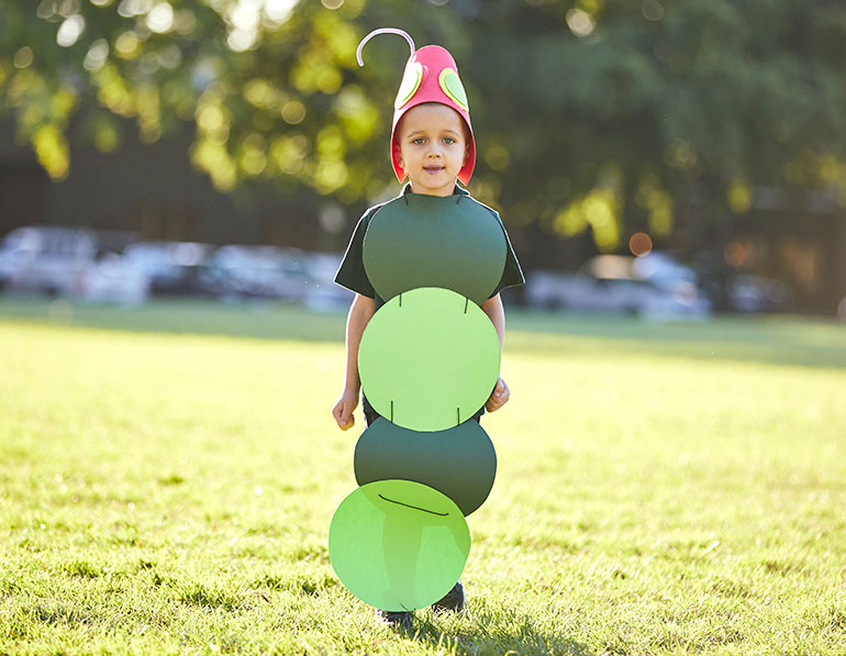 Hungry Caterpillar easy Book Week costumes