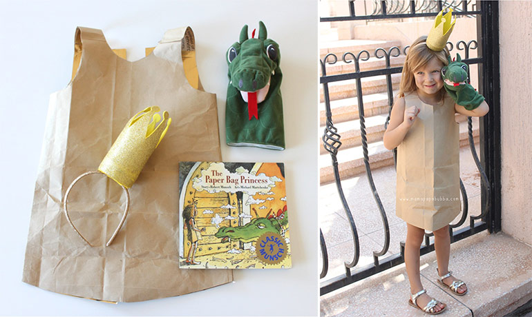 Paper Bag Princess - Easy Book week costumes