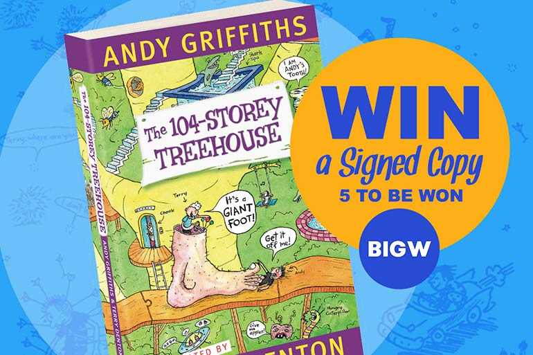 big w 104-storey treehouse giveaway