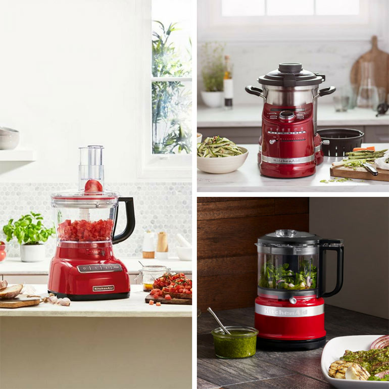 kitchenaid product collage