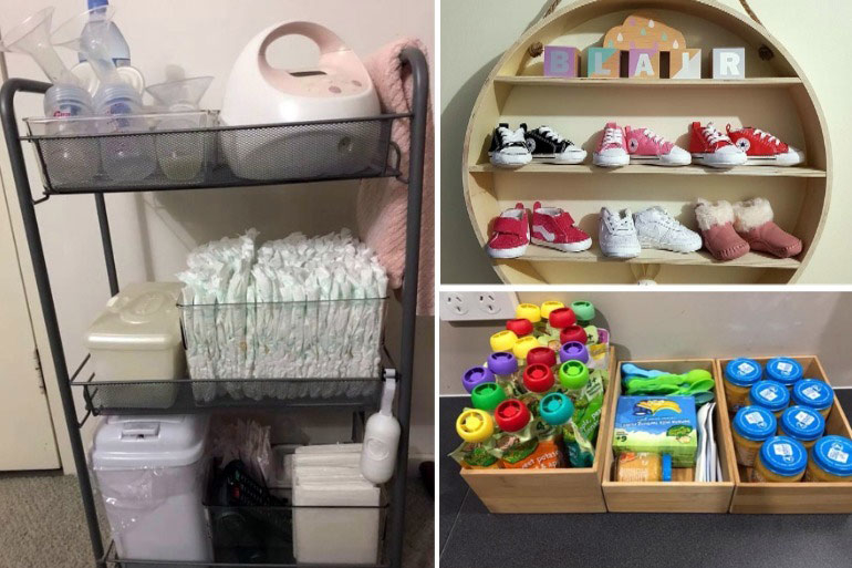 9 Clever Kmart Baby Hacks To Store All Your Baby S Stuff