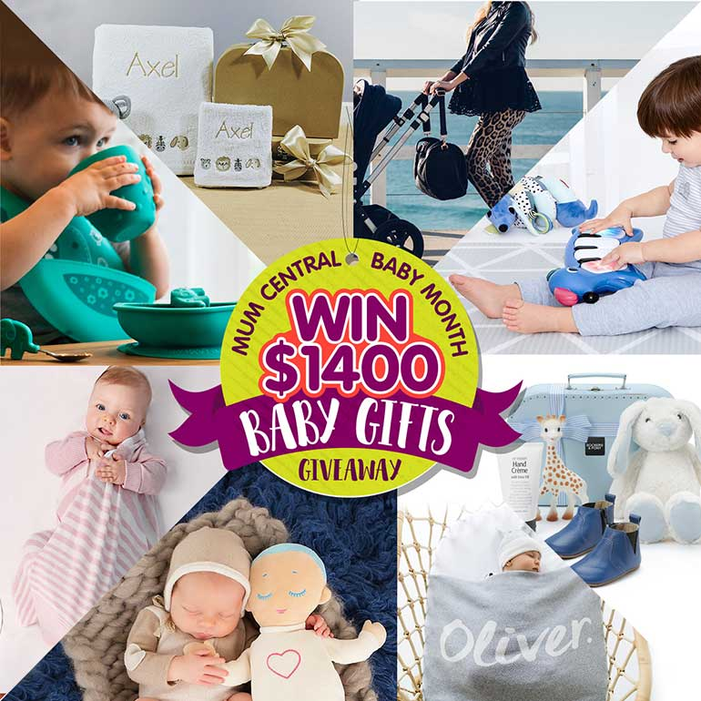 baby gift giveaway mum central