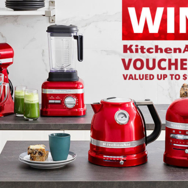 Want $50 to Spend at KitchenAid? It's Yours! Plus Enter to Win $1000 MORE!