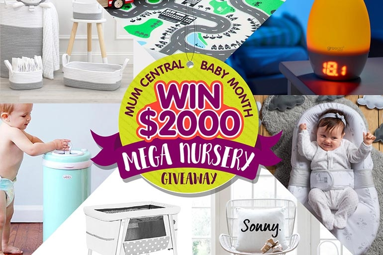 Mum Central baby gift nursery giveaway