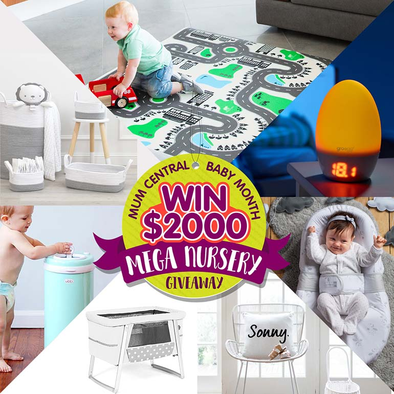 mum central baby gift giveaway