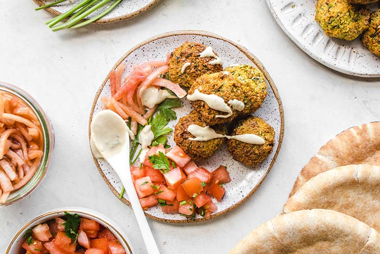 vegetarian falafel recipe