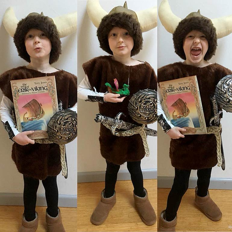 Viking book week costume