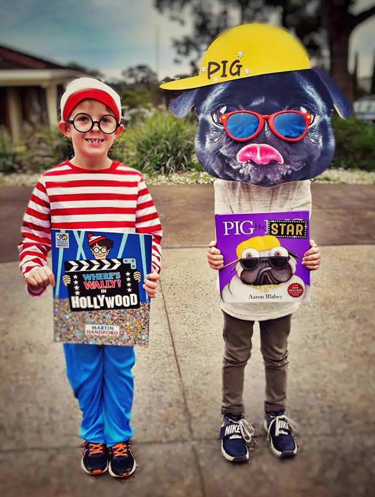 book week costumes for kids