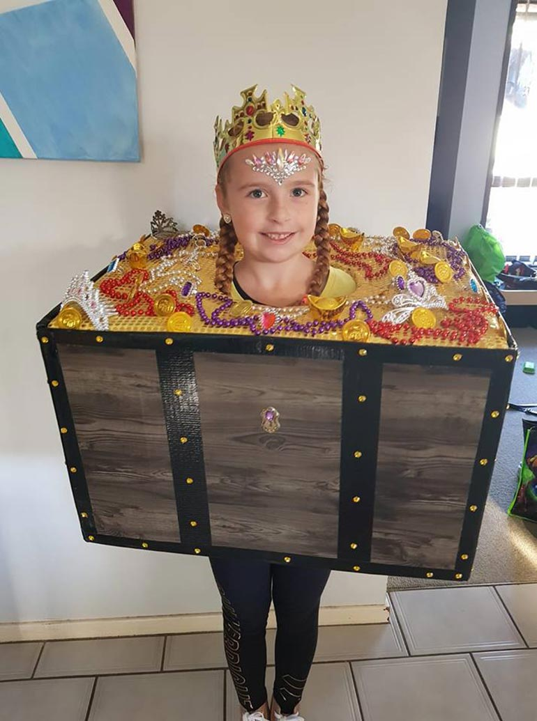 book week costume 2018 find your treasure