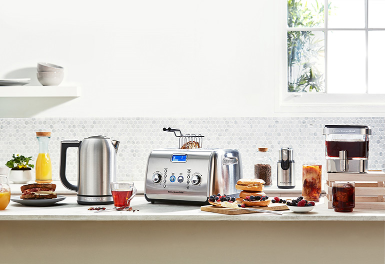 KitchenAid silver products