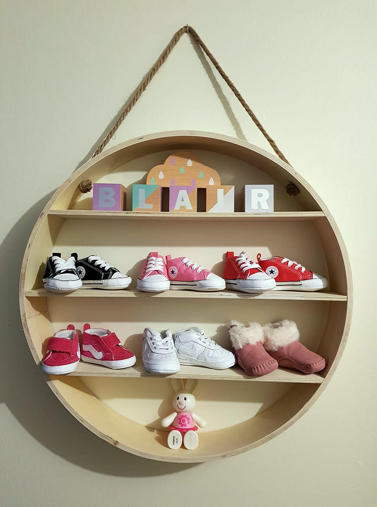 kmart baby hacks shoes