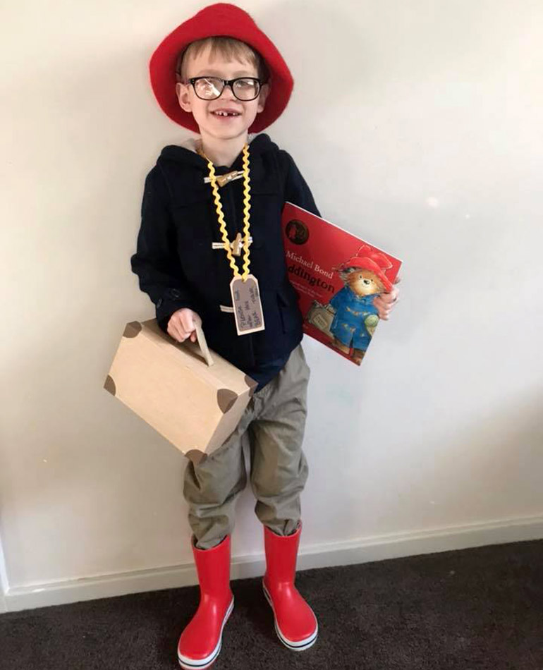 Paddington easy book week costume