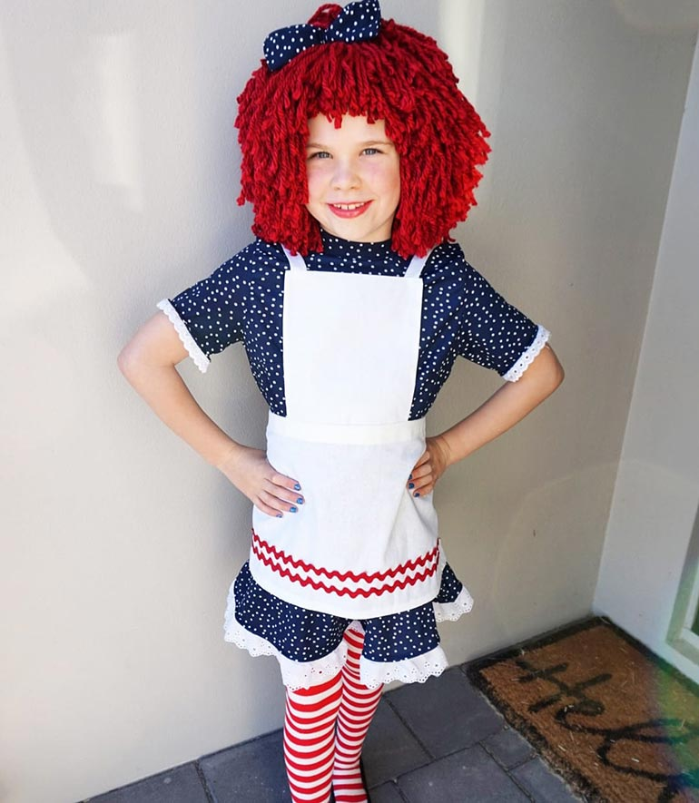Raggedy Ann Book Week costume idea