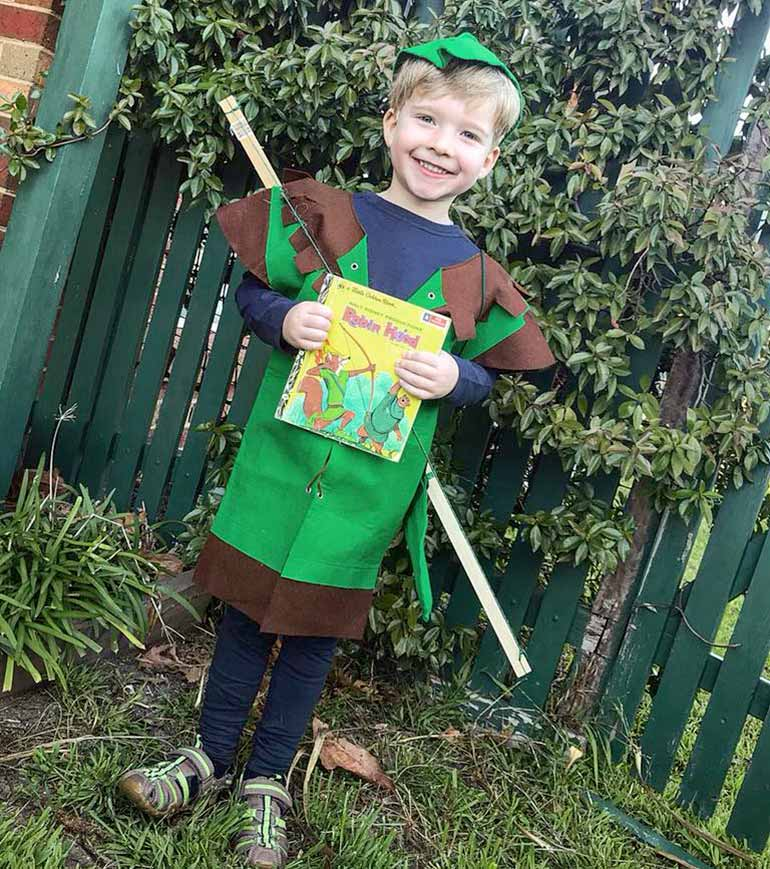 Robin Hood Book Week costume ideas