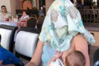 Mum Told to 'Cover Up' While Breastfeeding Does so In The BEST Way