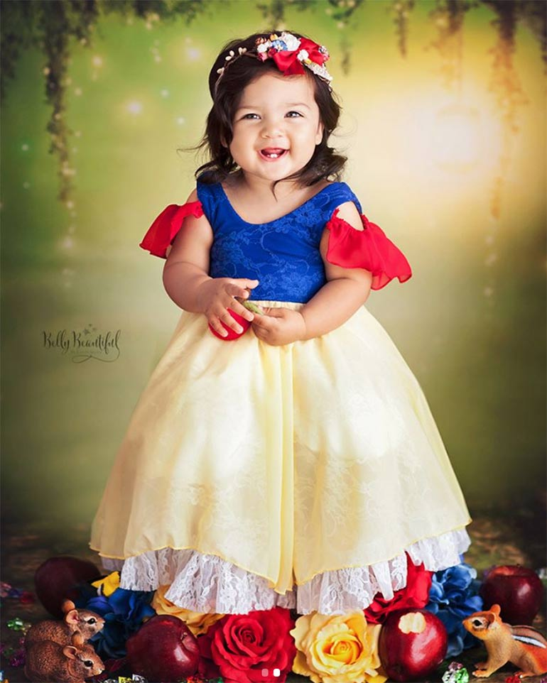 Belly Beautiful Portraits Snow White baby toddler photo