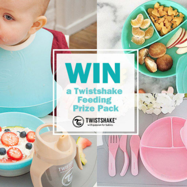 WIN: Twistshake Introduces Solids in a Fun, Easy and (almost) Mess-Free Way