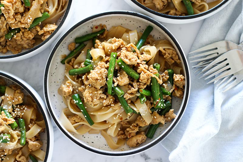easy chicken noodles recipe, budget meals for families