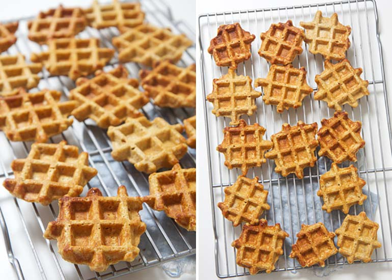sweet potato waffles snack recipe