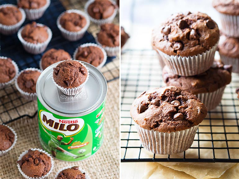 Milo chocolate muffin recipe
