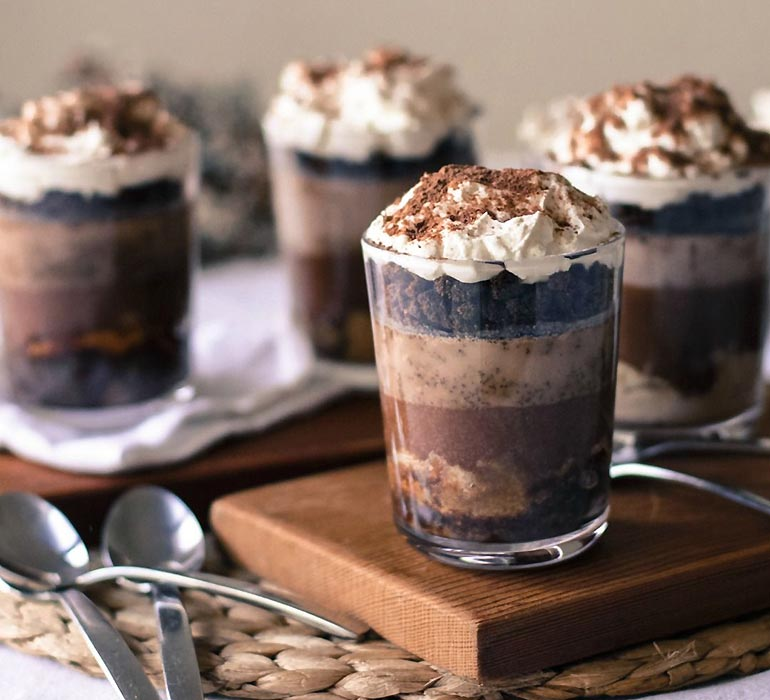 Milo trifle recipe