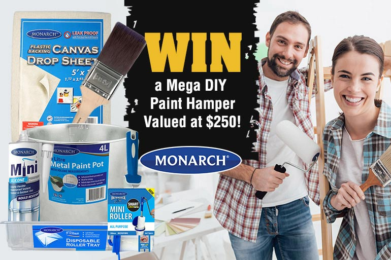 win a monarch painting hamper