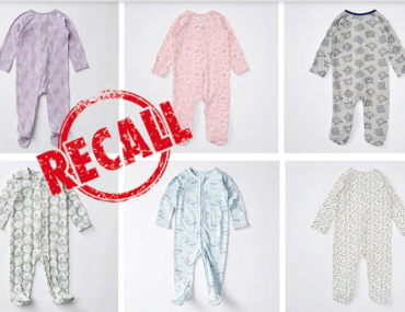 Baby Bunting baby coverall recall. Target baby coverall recall