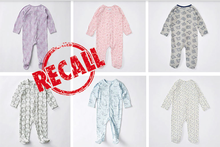 Baby Bunting And Target Recall Baby Coveralls Over Choking Risk