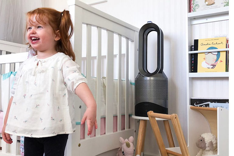 dyson ait purifier review child's room