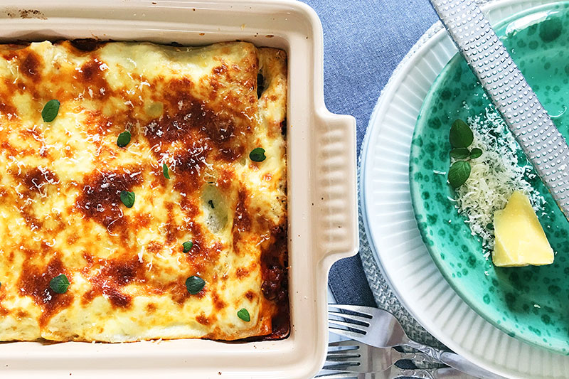 lasagne family dinner recipe